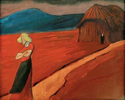 Tragic mood - Marianne von Werefkin