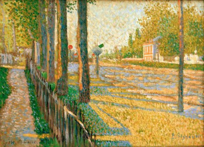 Train Junction in Bois-Colombes - Paul Signac