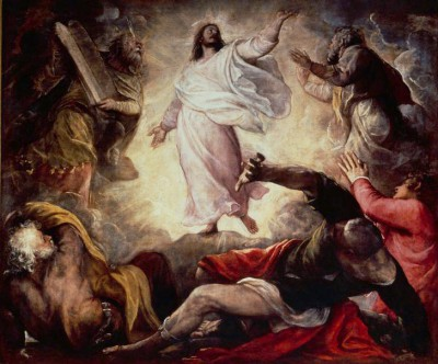Transfiguration of Christ on Mount Tabor - Tycjan