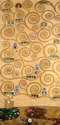TREE OF LIFE (EXTREME LEFT) - Gustav Klimt