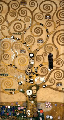 TREE OF LIFE, MIDDLE PANEL - Gustav Klimt