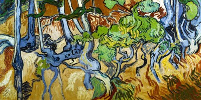 Tree roots and tree trunks - Vincent van Gogh