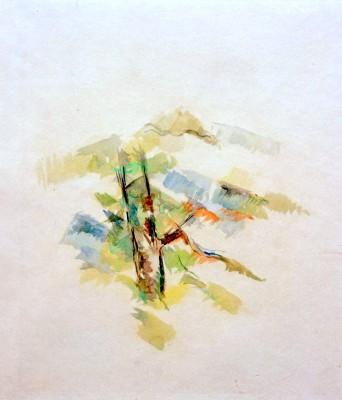 Tree Study - Paul Cézanne
