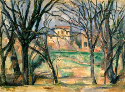 Trees and houses - Paul Cézanne