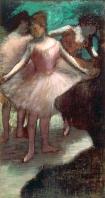 Trois Danseuses en Rose - Edgar Degas