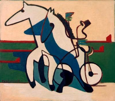 Trotting team - Ernst Ludwig Kirchner
