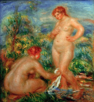 Two Bathers - Pierre Renoir