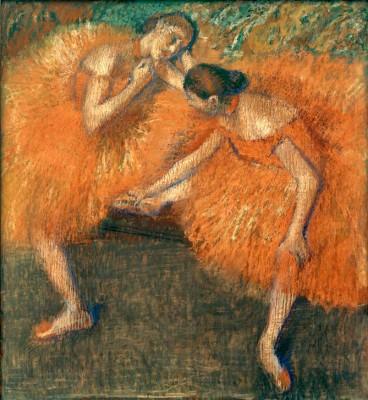 Two dancers (2) - Edgar Degas