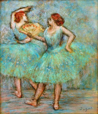 Two dancers - Edgar Degas