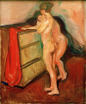 Two female nudes - Edvard Munch