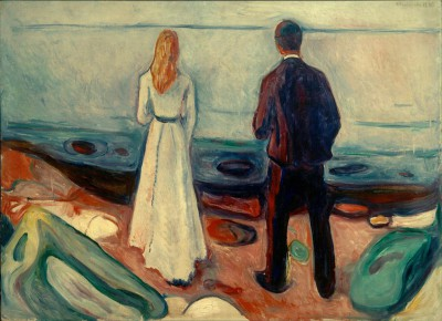 Two people. The lonely - Edvard Munch
