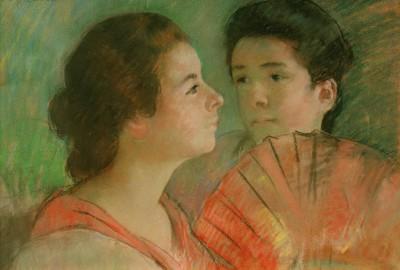 Two Sisters - Mary Cassatt
