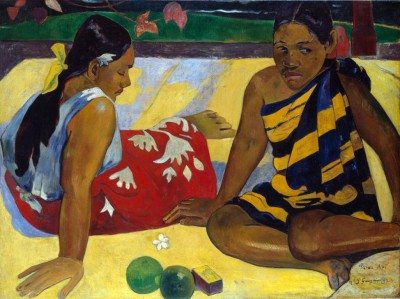 Two Tahiti Women - Paul Gauguin