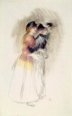 Two women - Pierre Renoir