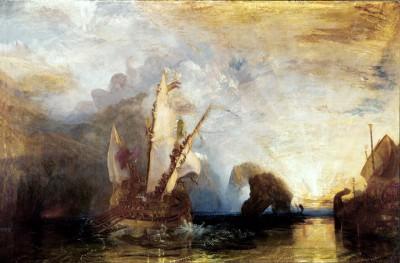 Ulysses deriding Polyphemus – Homer's Odyssey - William Turner