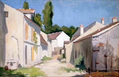 Un Chemin à Yerres - Gustave Caillebotte