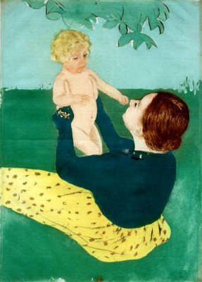 Under the Horse-Chestnut Tree - Mary Cassatt
