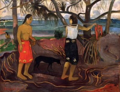 Under the Padanus Trees II - Paul Gauguin