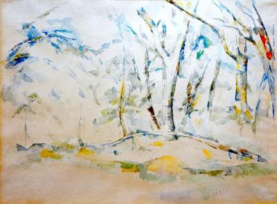 Underbrush - Paul Cézanne