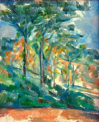 Undergrowth– The Forest - Paul Cézanne