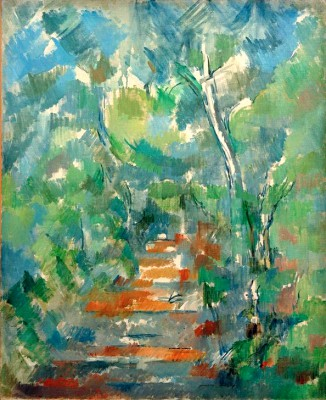 Undergrowth in Provence - Paul Cézanne