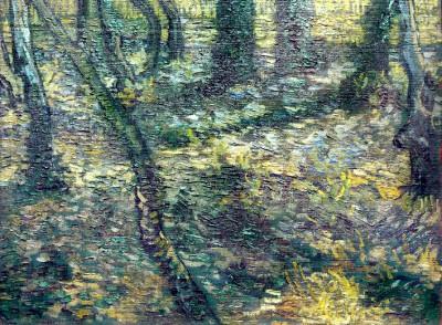 Undergrowth with Ivy - Vincent van Gogh