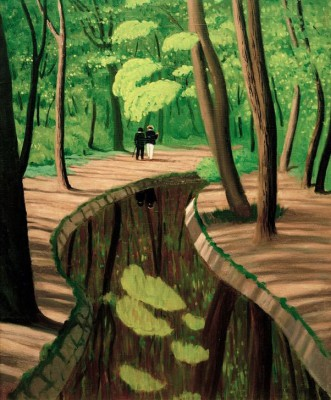 Underwood_ Bois de Boulogne - Félix Vallotton