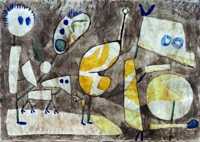 Ungeheuer in Bereitschaft - Paul Klee