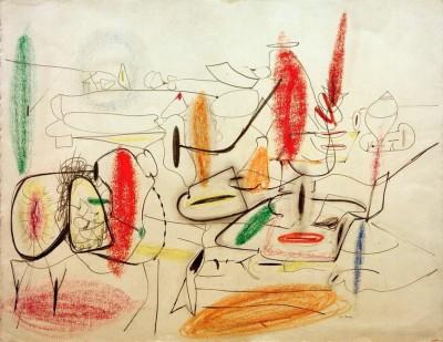 Untitled – Study for Painting - Arshile Gorky