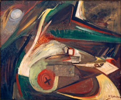 Untitled Abstract image - Kurt Schwitters