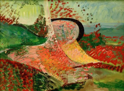 Untitled Landscape - Abstraction - Kurt Schwitters