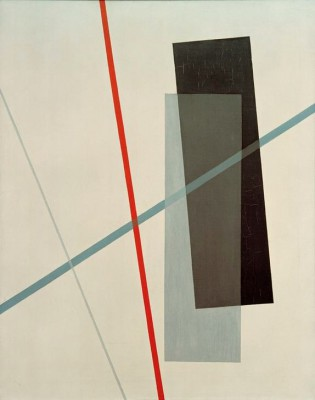 Untitled - Oil on canvas - László Moholy-Nagy