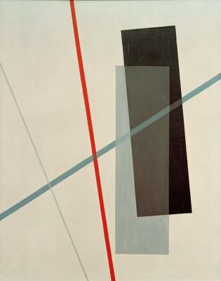 Untitled - Oil on canvas - László Moholy-Nagy