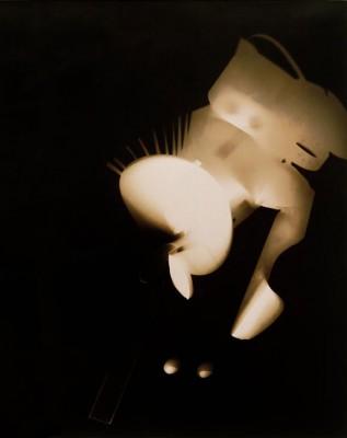 Untitled - Photogram II - László Moholy-Nagy