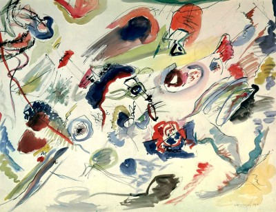 Untitled (First Abstract Watercolour) - Wassily Kandinsky