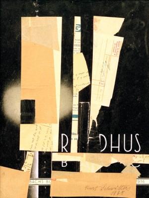 Untitled (R DHUS) - Kurt Schwitters