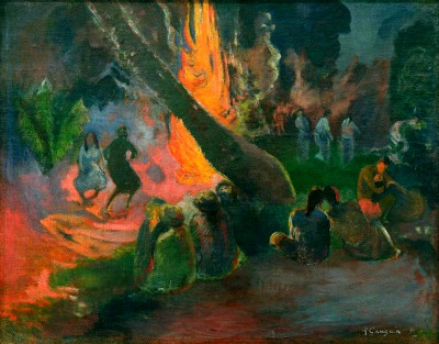 Upaupa (Firedance) - Paul Gauguin
