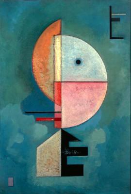 Upwards - Wassily Kandinsky