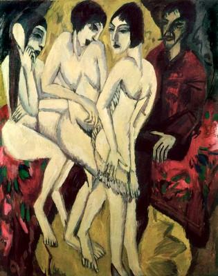 Urteil des Paris - Ernst Ludwig Kirchner