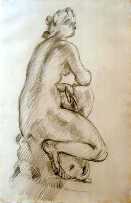 Vénus accroupie - Paul Cézanne