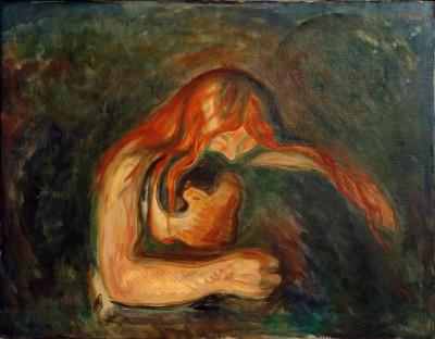 Vampire (2) - Edvard Munch
