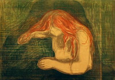 Vampire - Edvard Munch