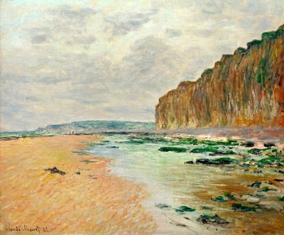 Varengville, Low Tide - Claude Monet