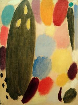Variation - Ascona autumn - Aleksiej Jawlensky