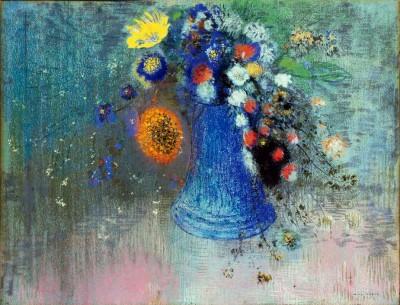 Vase de fleurs II - Odilon Redon