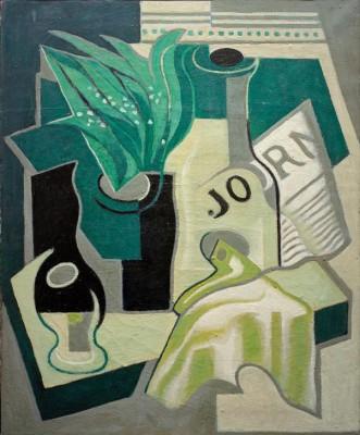 Vase mit Maiglöckchen - Juan Gris