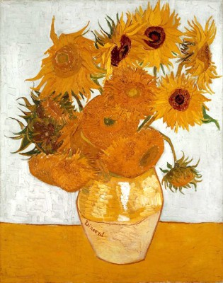 Vase with Sunflowers - Vincent van Gogh