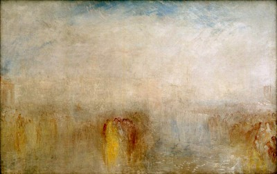 Venetian Festival - View over the Bacino - William Turner