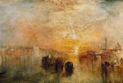 Venice - Going to the Ball - William Turner