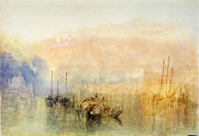 Venice, Entrance to the Grand Canal - William Turner